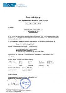 DIN 2303 · GSI SLV Berlin-Brandenburg