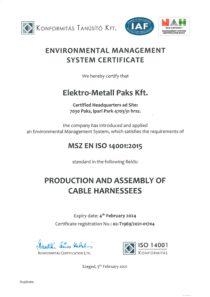 EMP ISO 14001